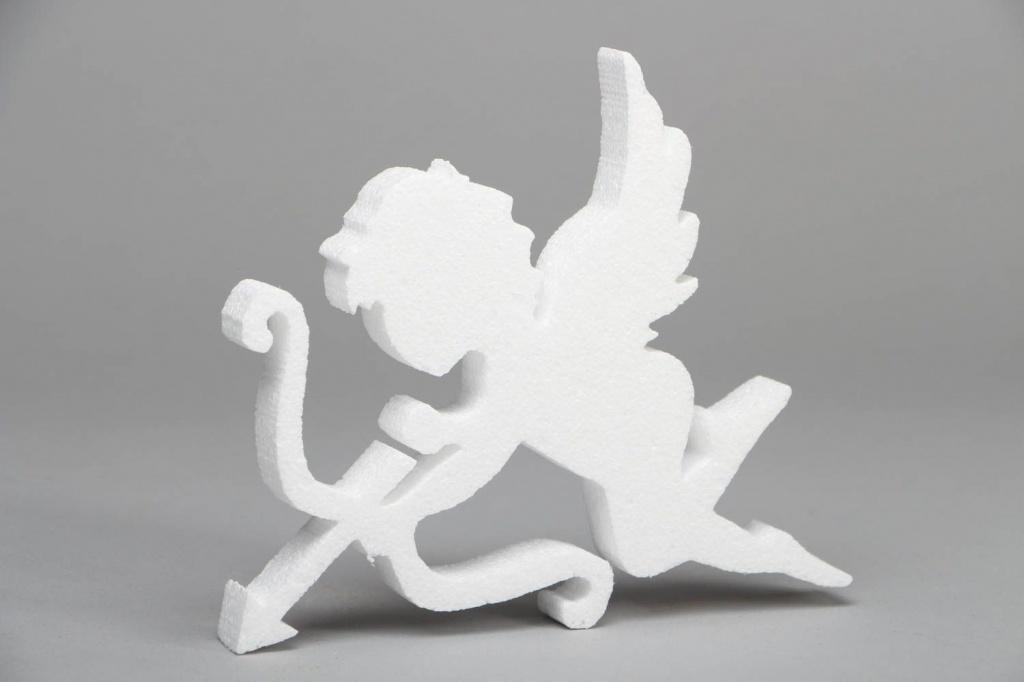 Ангел из пенопласта своими руками