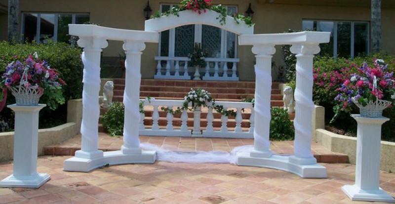Декоративные колонны из пенопласта своими руками