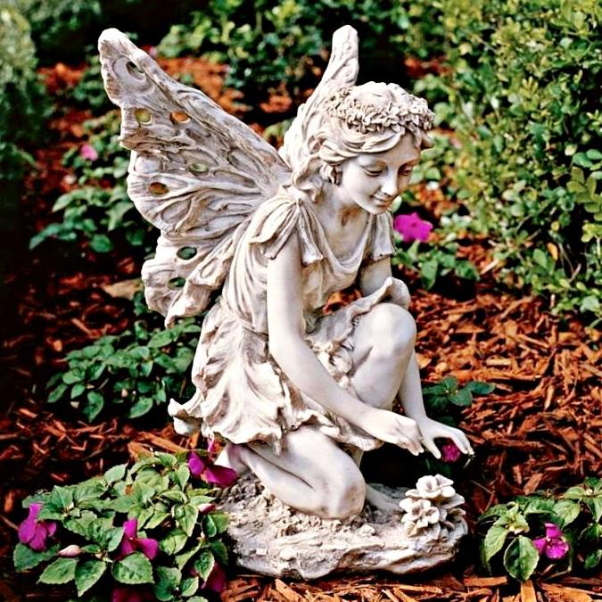 фокус том, садовые небольшие скульптуры в картинках небольшие потертости